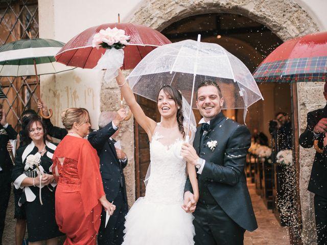 Il matrimonio di Andrea e Marzia a Bassano Romano, Viterbo 20