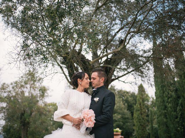 Il matrimonio di Andrea e Marzia a Bassano Romano, Viterbo 45