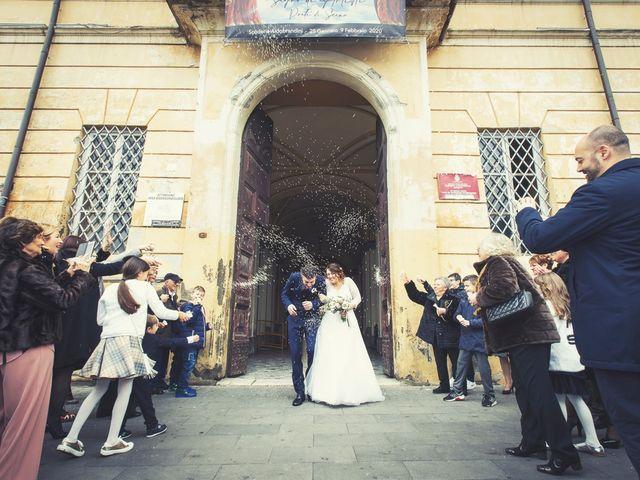 Il matrimonio di Marco e Alessandra a Frascati, Roma 17