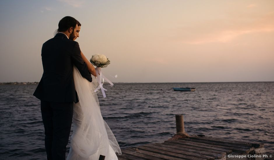 Il matrimonio di Giuseppe e Francesca a Erice, Trapani