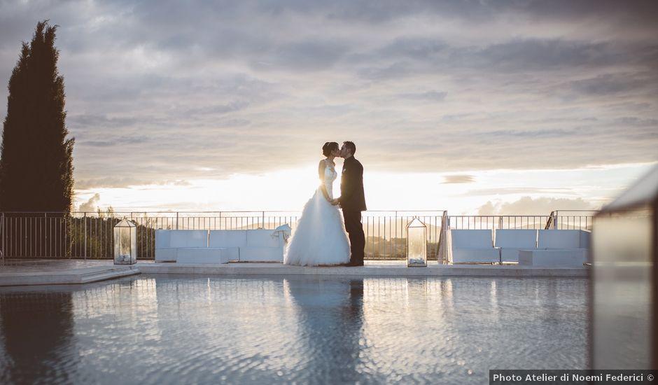Il matrimonio di Andrea e Marzia a Bassano Romano, Viterbo