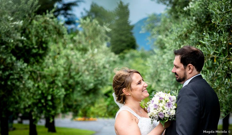 Il matrimonio di Raoul e Cinzia a Colico, Lecco