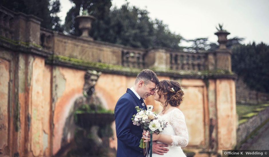 Il matrimonio di Marco e Alessandra a Frascati, Roma