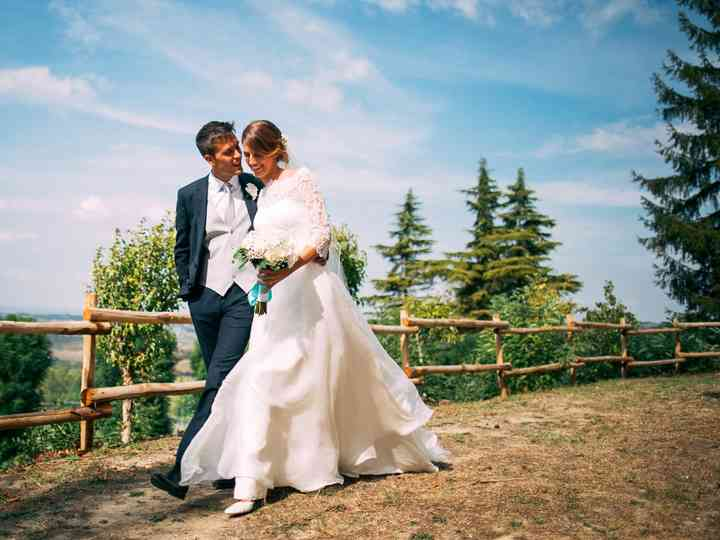 le nozze di Carlotta e Mirko