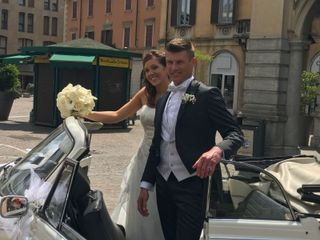 Le nozze di Serena  e Alex