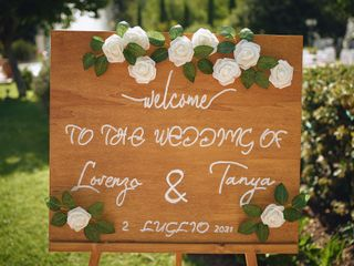 Le nozze di Tanya e Lorenzo 1