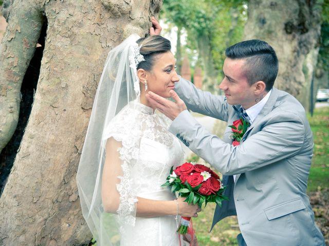 Le nozze di Nicoleta e Michelle