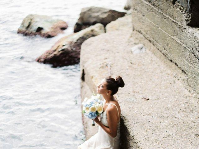 Il matrimonio di Irina e Claudio a Bogliasco, Genova 8