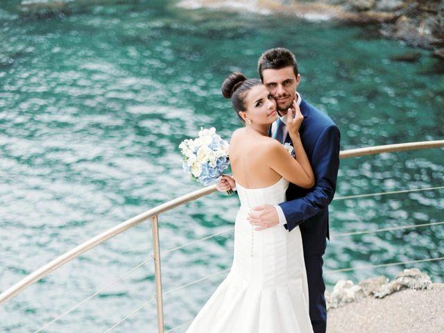 Il matrimonio di Irina e Claudio a Bogliasco, Genova 40