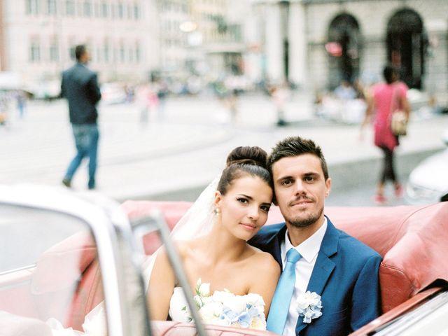 Il matrimonio di Irina e Claudio a Bogliasco, Genova 57