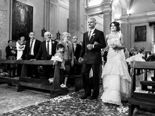 Il matrimonio di Andrea e Alicia a Rio Saliceto, Reggio Emilia 17