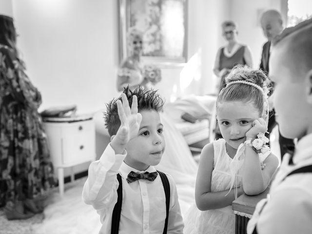 Il matrimonio di Serafino e Erica a Torre di Mosto, Venezia 22