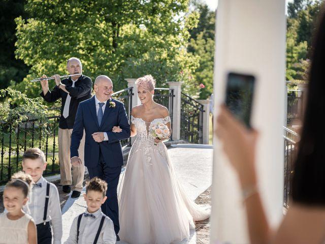 Il matrimonio di Serafino e Erica a Torre di Mosto, Venezia 26
