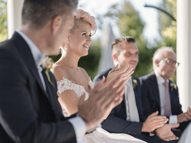 Il matrimonio di Serafino e Erica a Torre di Mosto, Venezia 34