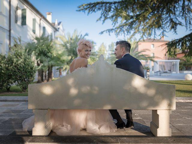 Il matrimonio di Serafino e Erica a Torre di Mosto, Venezia 35