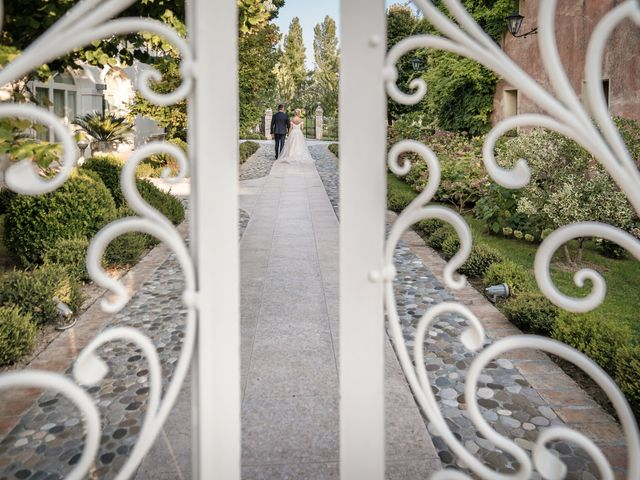 Il matrimonio di Serafino e Erica a Torre di Mosto, Venezia 40