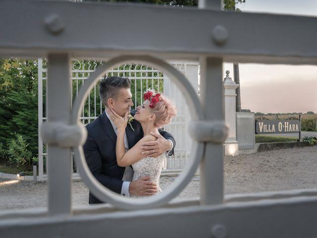 Il matrimonio di Serafino e Erica a Torre di Mosto, Venezia 44