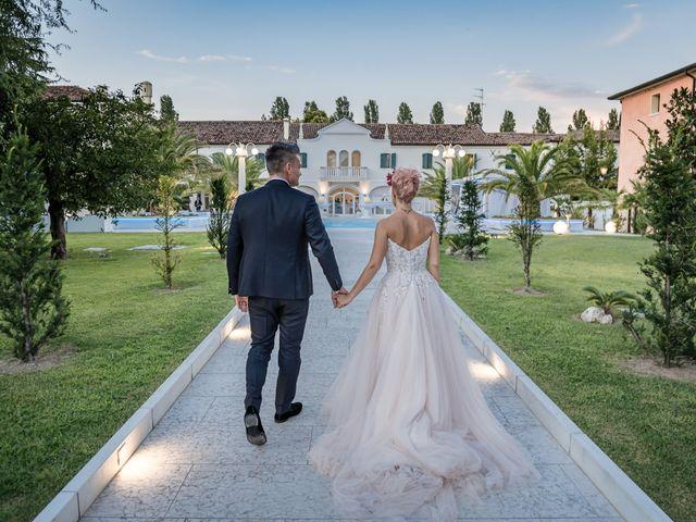 Il matrimonio di Serafino e Erica a Torre di Mosto, Venezia 52