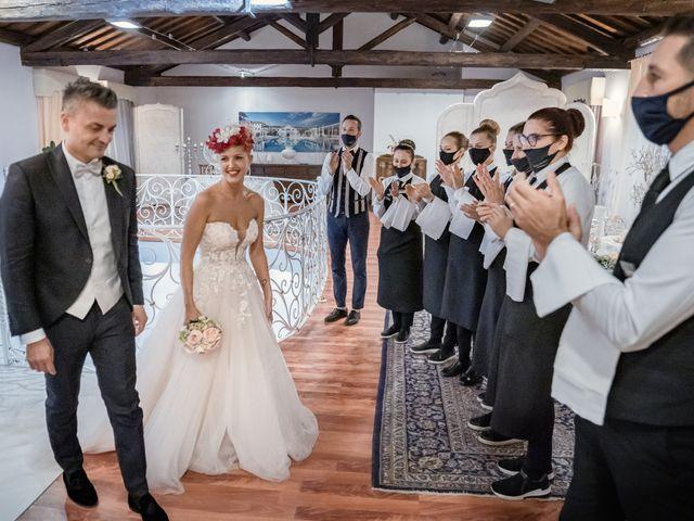 Il matrimonio di Serafino e Erica a Torre di Mosto, Venezia 55