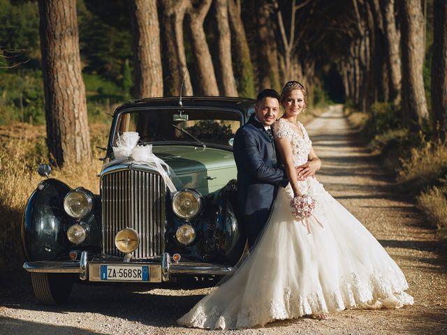 Il matrimonio di Lorenzo e Tanya a Foligno, Perugia 58