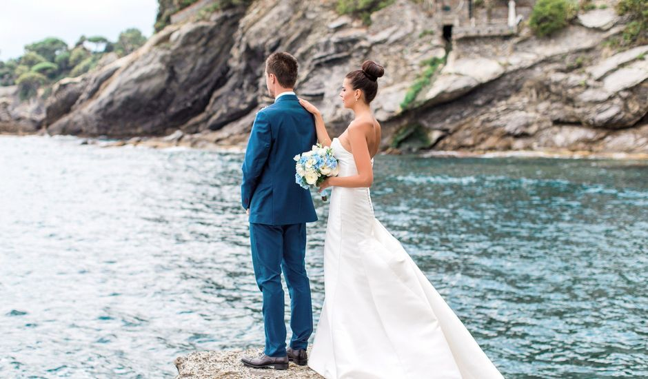 Il matrimonio di Irina e Claudio a Bogliasco, Genova