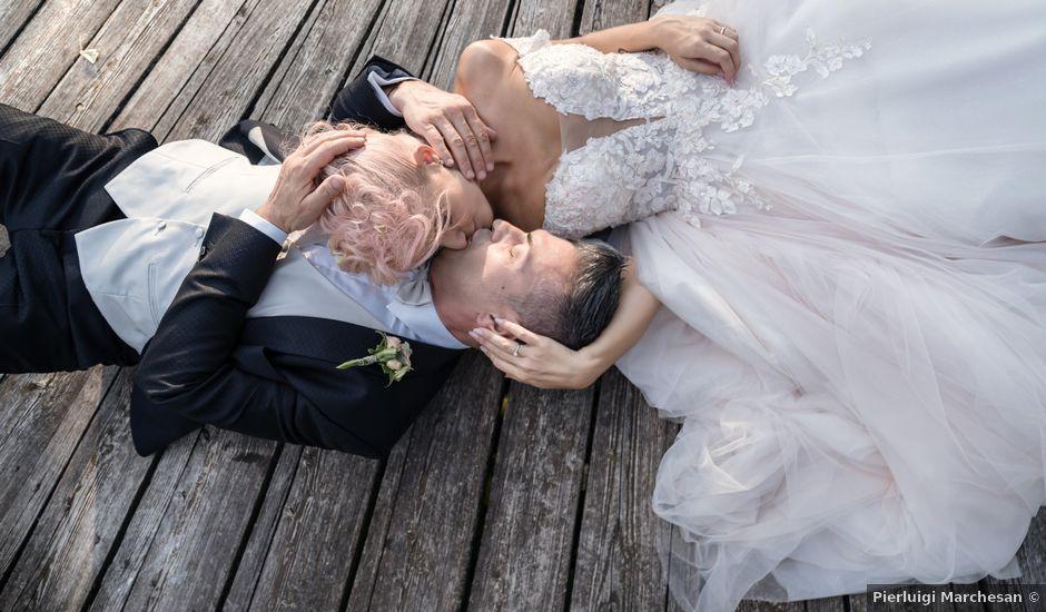 Il matrimonio di Serafino e Erica a Torre di Mosto, Venezia