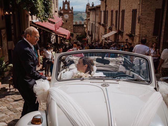 Il matrimonio di Lorenzo e Isabella a Gradara, Pesaro - Urbino 28