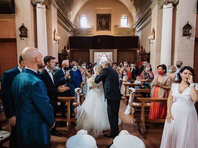 Il matrimonio di Lorenzo e Isabella a Gradara, Pesaro - Urbino 32