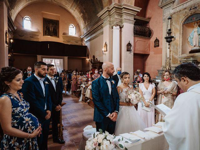 Il matrimonio di Lorenzo e Isabella a Gradara, Pesaro - Urbino 33