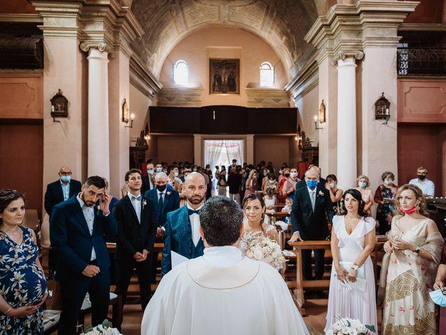 Il matrimonio di Lorenzo e Isabella a Gradara, Pesaro - Urbino 34