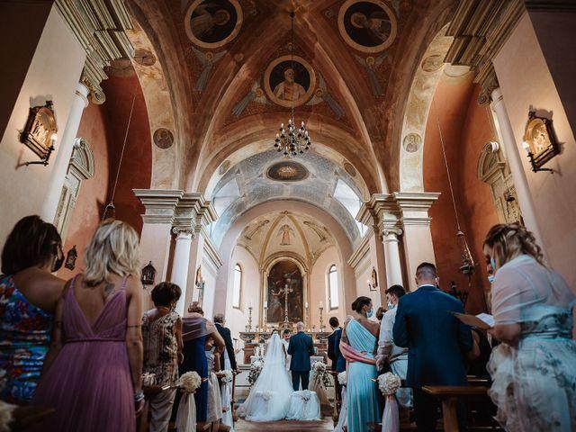 Il matrimonio di Lorenzo e Isabella a Gradara, Pesaro - Urbino 35