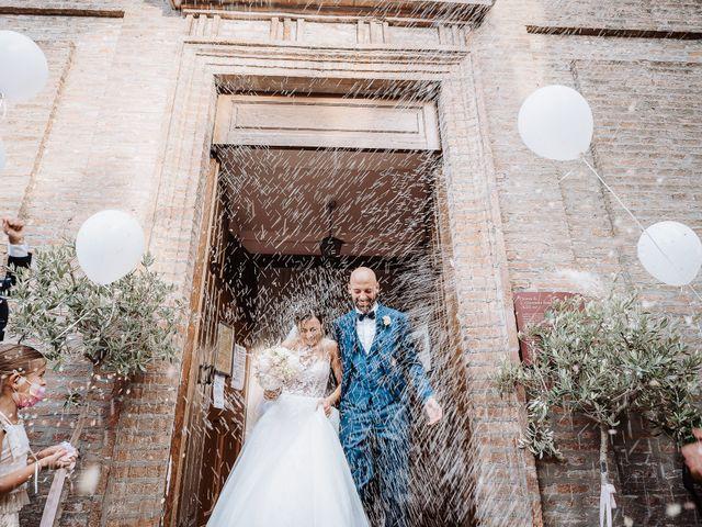 Il matrimonio di Lorenzo e Isabella a Gradara, Pesaro - Urbino 41
