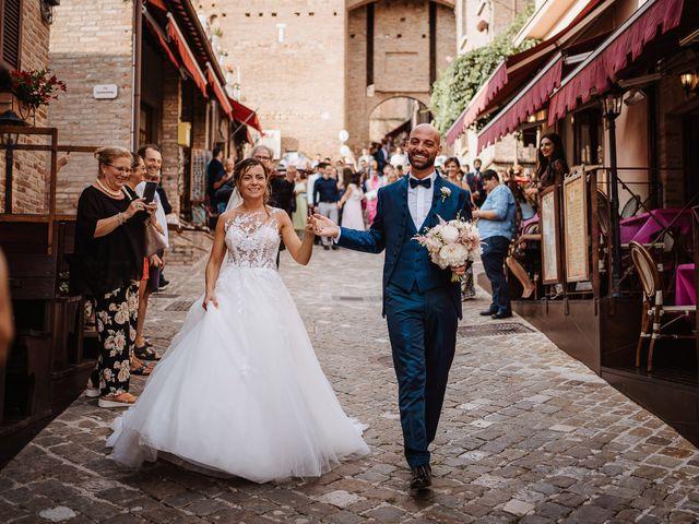 Il matrimonio di Lorenzo e Isabella a Gradara, Pesaro - Urbino 44