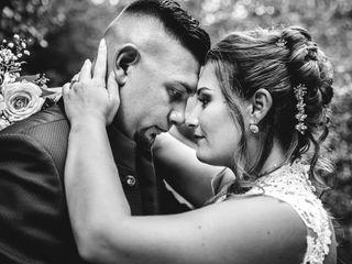 Le nozze di Evelin e Erik