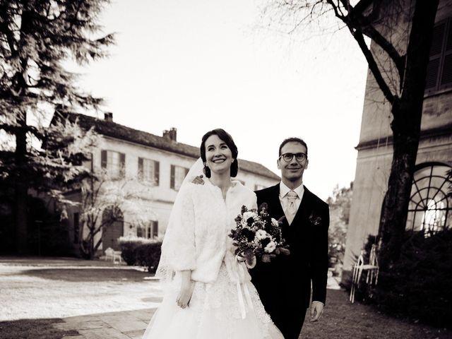 Il matrimonio di Alberto e Anna a Castiglione Olona, Varese 6