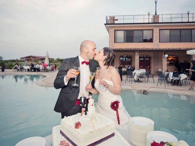 le nozze di Ilaria e Luciano