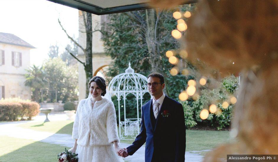 Il matrimonio di Alberto e Anna a Castiglione Olona, Varese