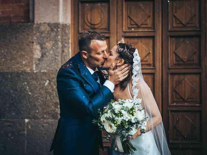 le nozze di Teresa e Sandro