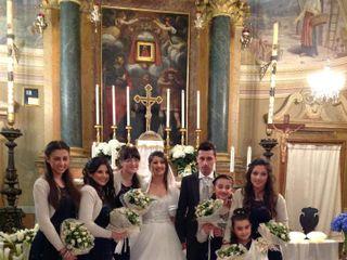 Le nozze di Cinzia Preci e Mauro Ferrari 1