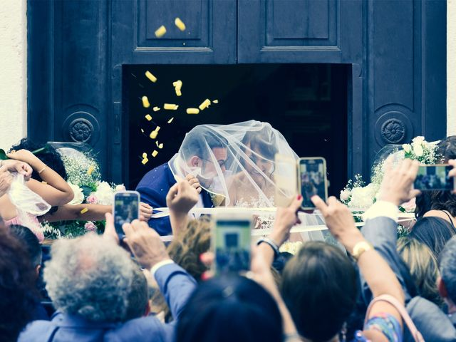 le nozze di Mariateresa e Vincenzo