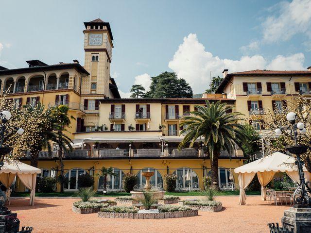 Il matrimonio di Jon e Rebecca a Gardone Riviera, Brescia 3