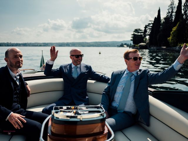 Il matrimonio di Jon e Rebecca a Gardone Riviera, Brescia 34