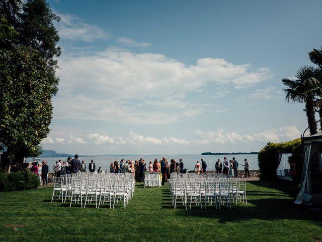 Il matrimonio di Jon e Rebecca a Gardone Riviera, Brescia 35
