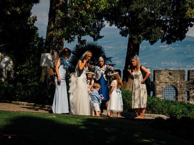 Il matrimonio di Jon e Rebecca a Gardone Riviera, Brescia 40