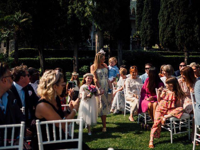 Il matrimonio di Jon e Rebecca a Gardone Riviera, Brescia 42