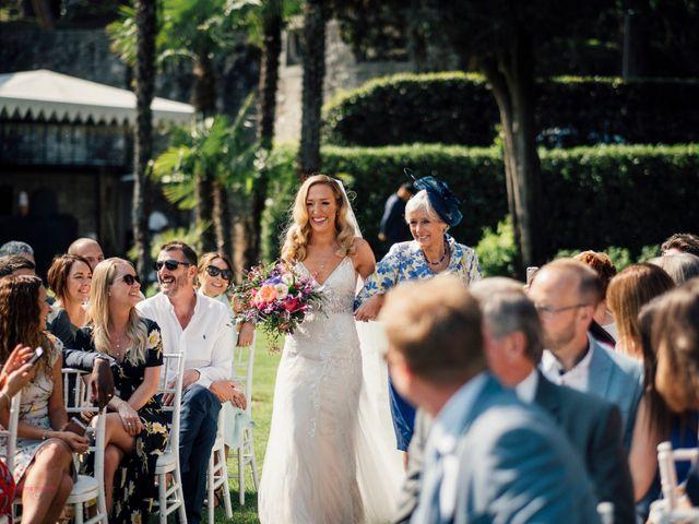 Il matrimonio di Jon e Rebecca a Gardone Riviera, Brescia 45