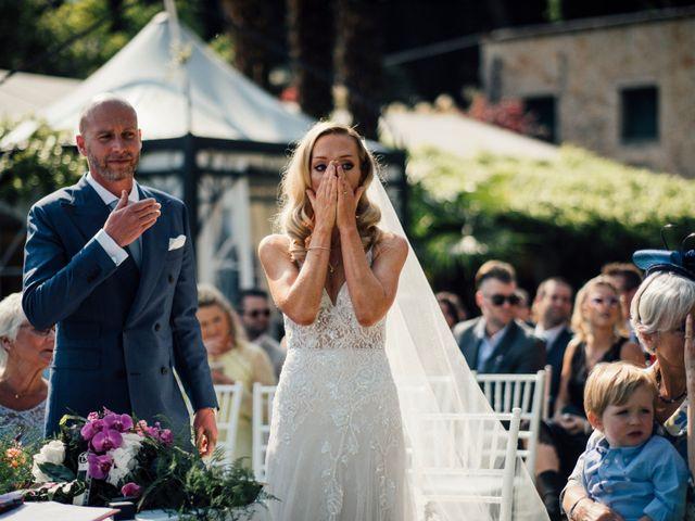 Il matrimonio di Jon e Rebecca a Gardone Riviera, Brescia 57