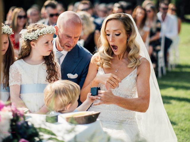 Le nozze di Rebecca e Jon