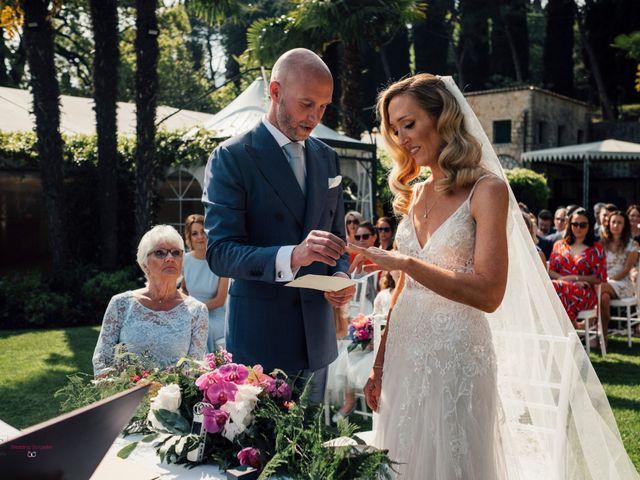Il matrimonio di Jon e Rebecca a Gardone Riviera, Brescia 64