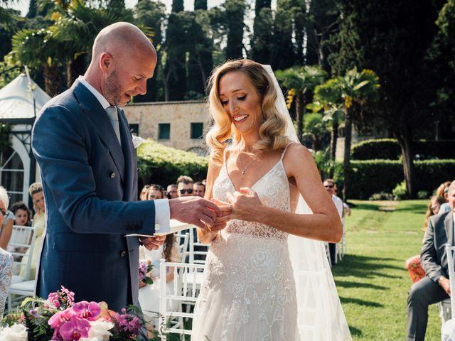 Il matrimonio di Jon e Rebecca a Gardone Riviera, Brescia 65